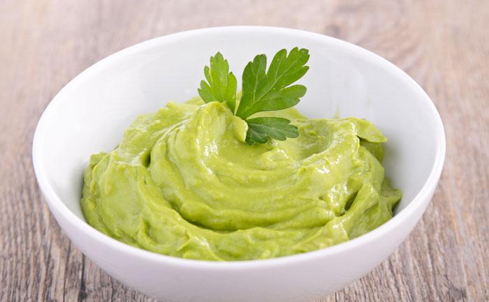 Mayonnaise verte maison