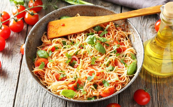 One Pot Pasta aux tomates cerises