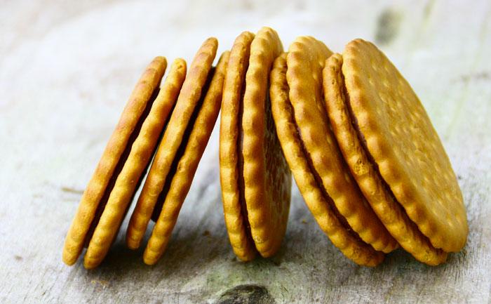 Biscuits fourrés au chocolat façon Prince de LU