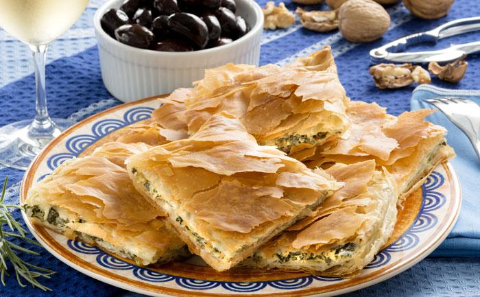 Pita grecque (tourte feuilletée à la feta)