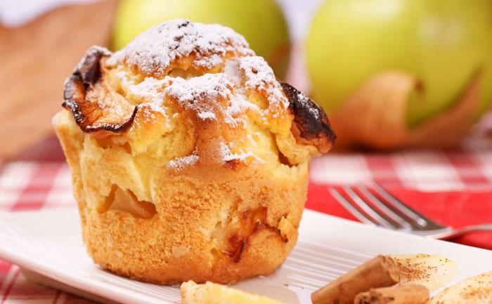 Petits cakes aux pommes