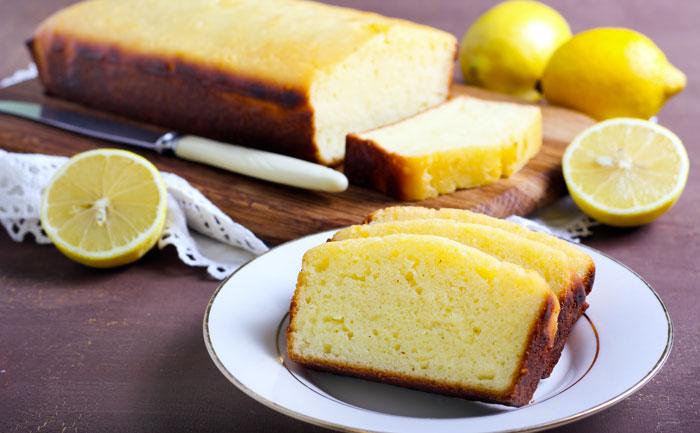 Cake au cédrat confit