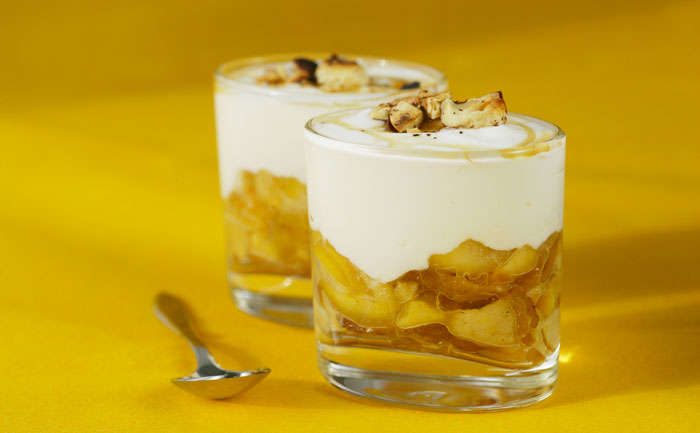 Fruits et fromage blanc