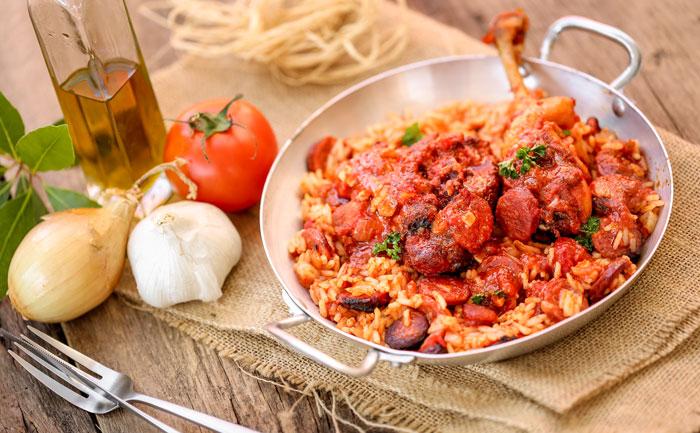 Canard au riz (arroz de pato)