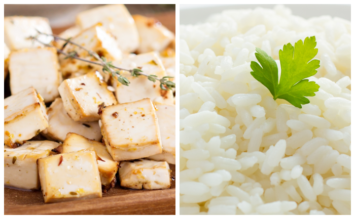 Tofu sauté à l'ail