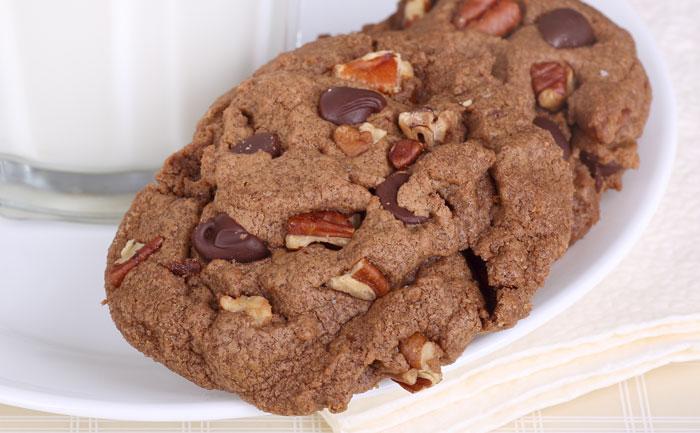Cookies sans gluten aux noix de pécan