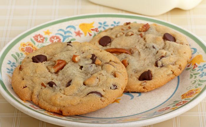 Cookies sans gluten aux noix de pécan et coco