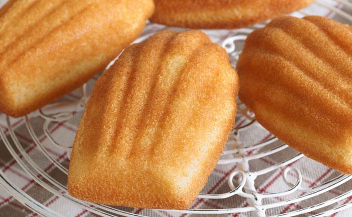 madeleines sans oeuf wecook