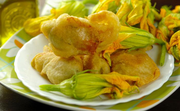 Beignets de fleur de courgette (fritelle)