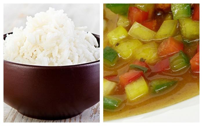 Riz aux poivrons grillés