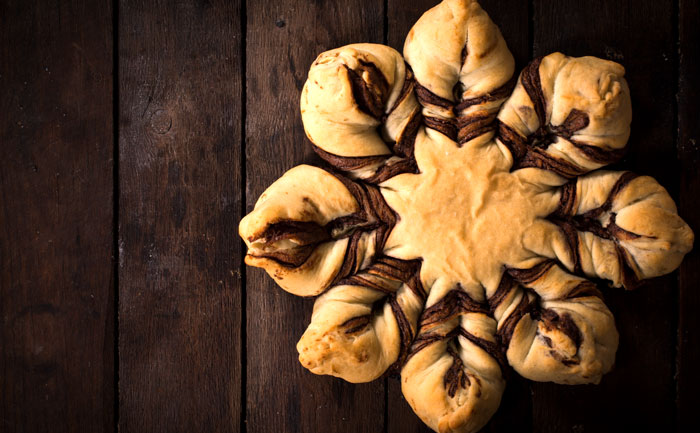 Star bread au Nutella