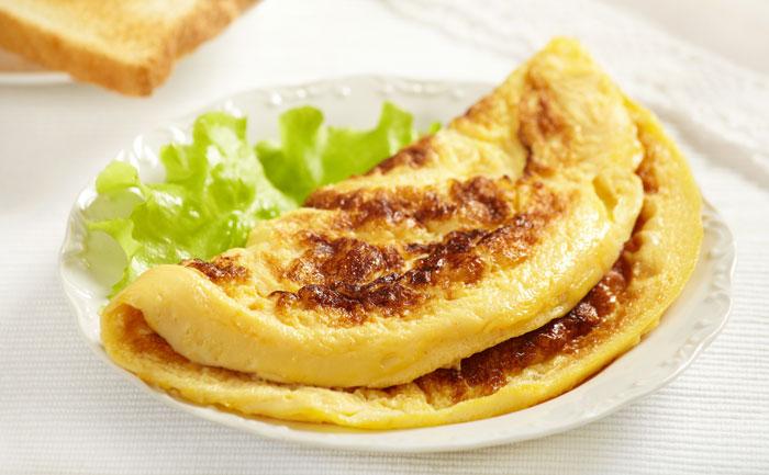 Omelette mexicaine au poulet