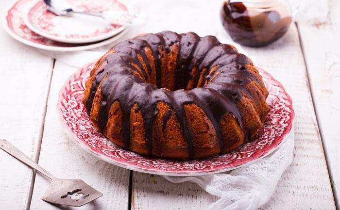 Chocolate red wine cake (Gâteau au chocolat et au vin rouge)