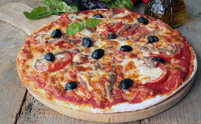 Pizza napolitaine sans gluten