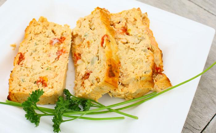 Cake aux sardines sans gluten