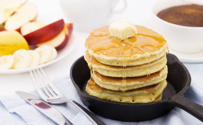 Pancakes sans lait