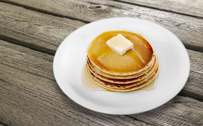 Pancakes sans levure