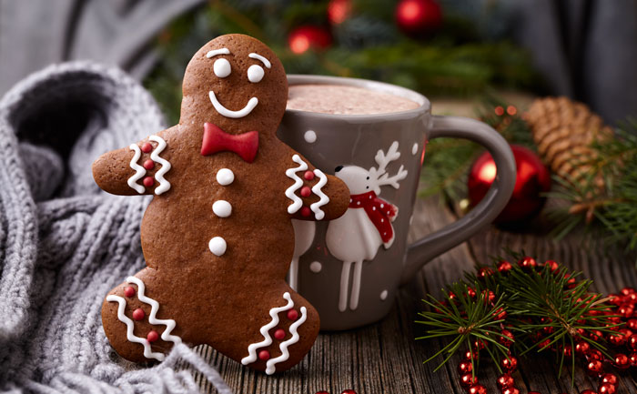 Bonhomme de pain d'épices (gingerbread man)