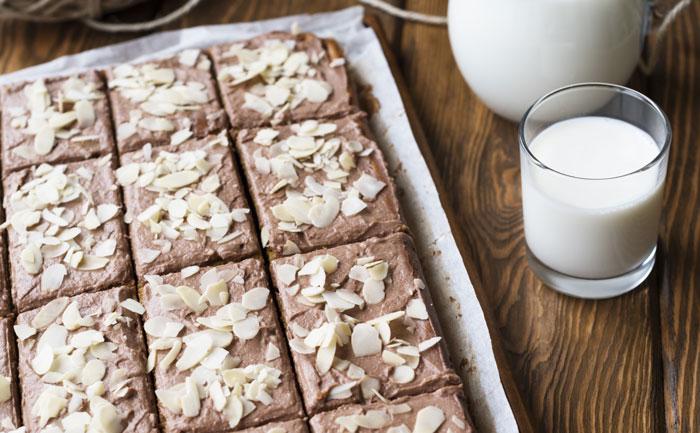 Brownies au chocolat et aux amandes sans gluten