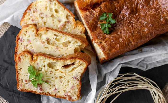 Recette Cake Olive Feta Lard
