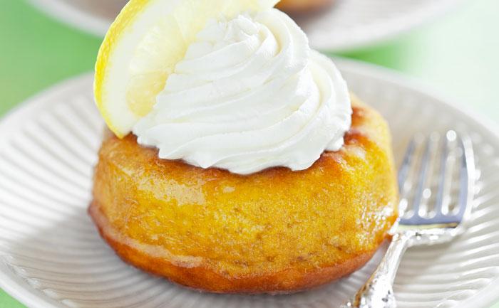 Mini savarins au citron