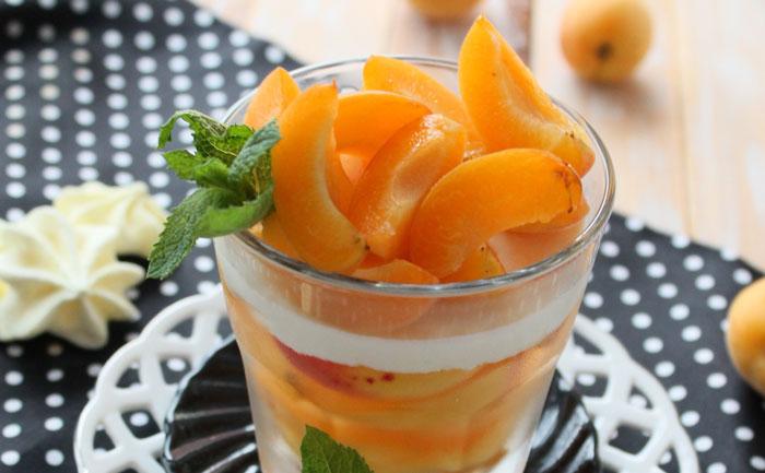 Tiramisu aux abricots