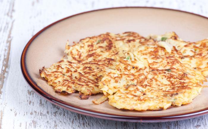 Pancakes au panais