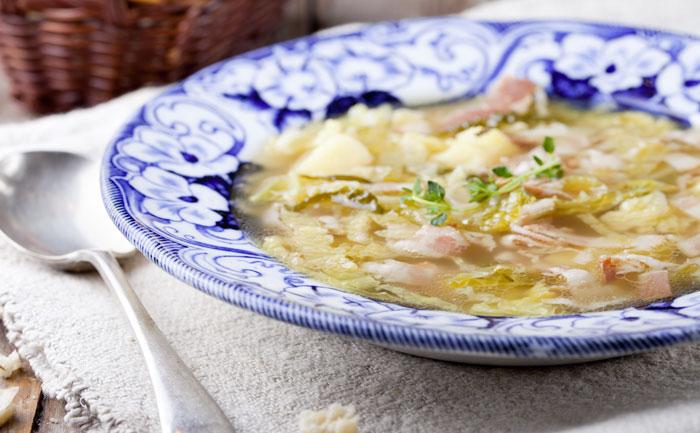 Soupe auvergnate au chou