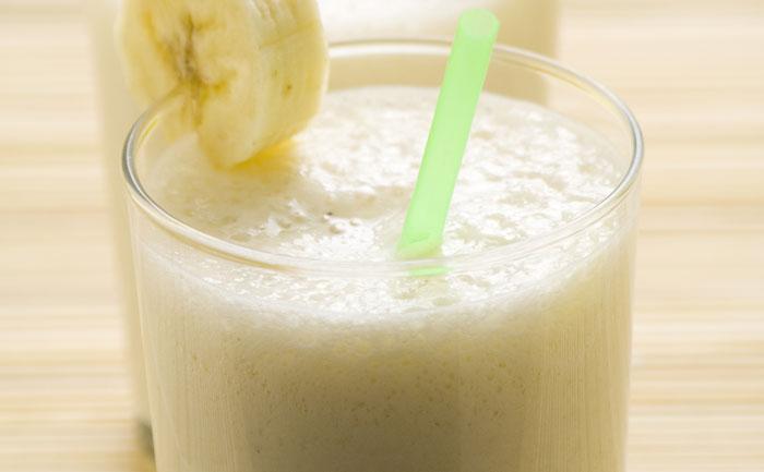 Crème de yaourt pomme-banane