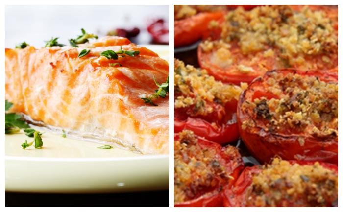Cuisses de poulet et tomates au four wecook - Cuisse de poulet calories ...