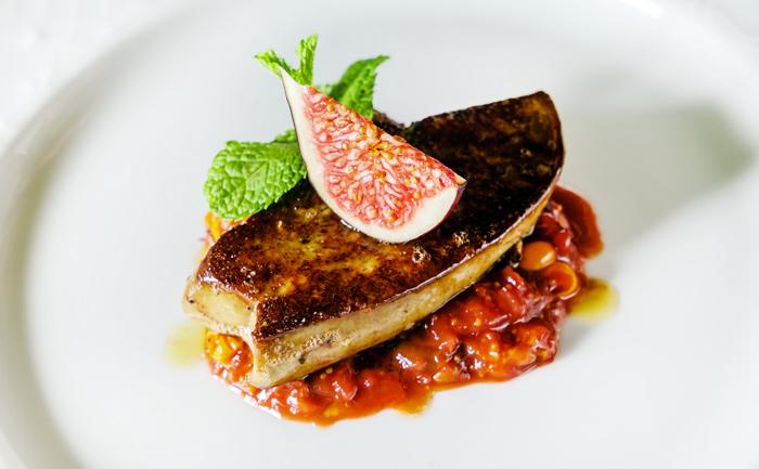 Foie gras poêlé aux figues
