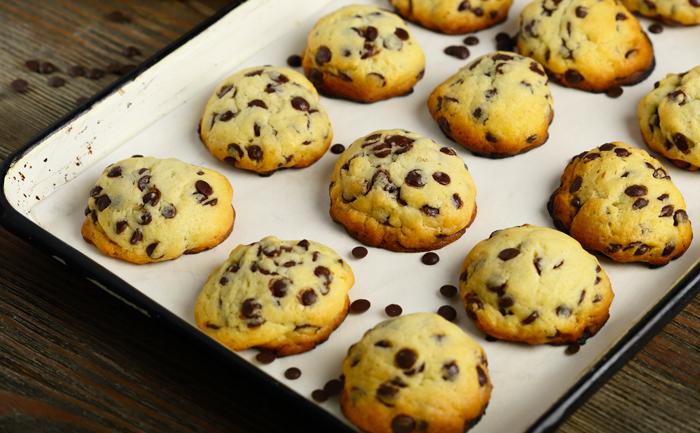 Cookies chocolat banane des îles
